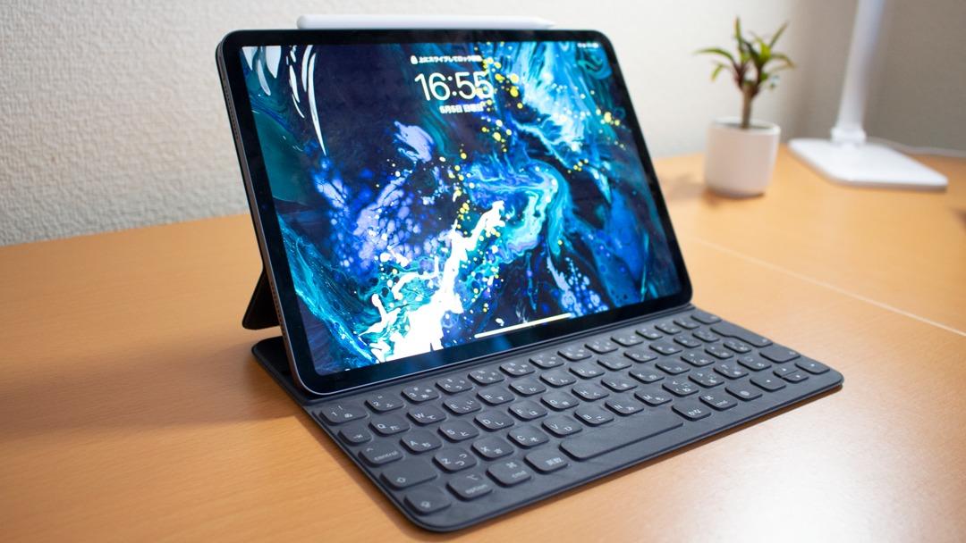 【レビュー】iPad Pro 11インチを購入!+Apple Pencil (第2世代)+Smart Keyboard Folio
